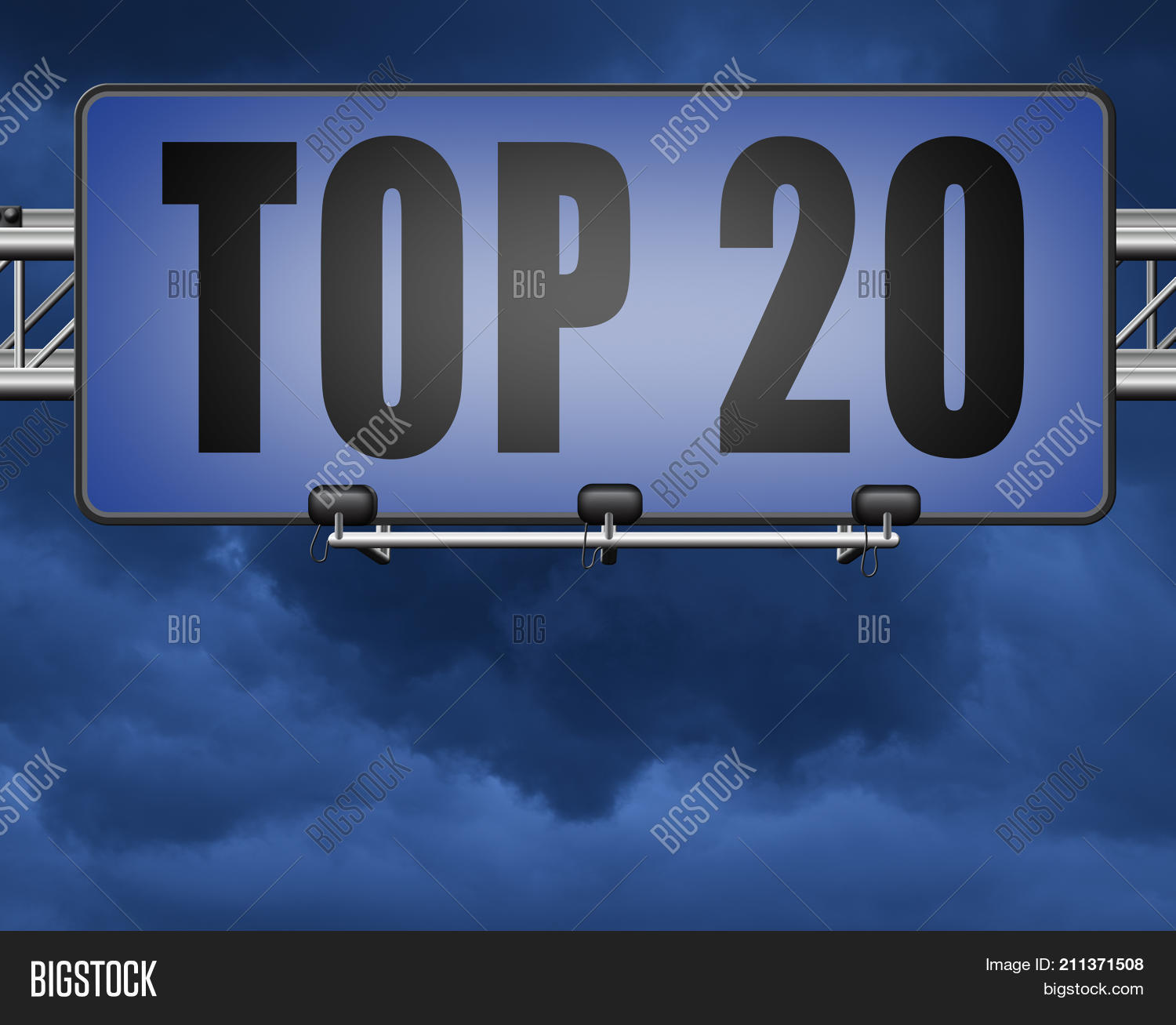 Top 20 music this month