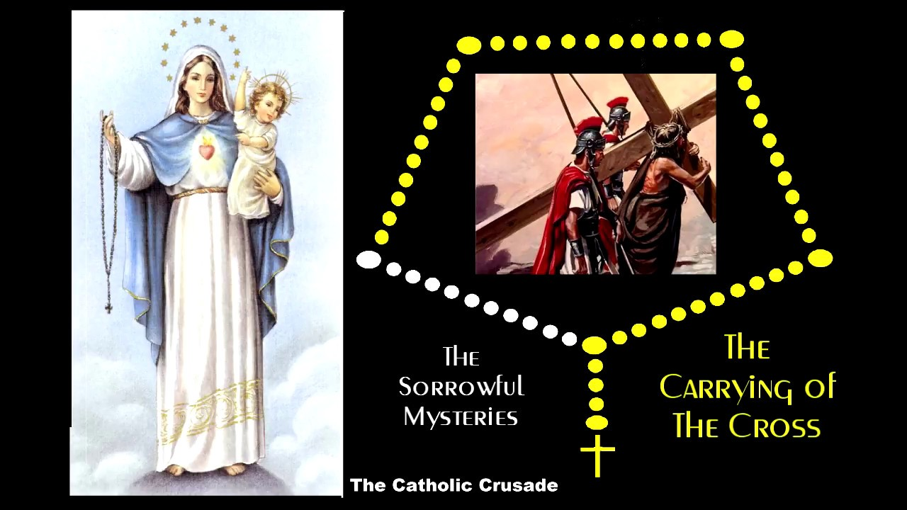 Sorrowful mysteries of the holy rosary youtube